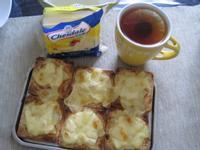5分鐘搞定營養早餐~芝司樂比薩餅佐鳳梨紅茶