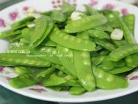 【簡單做菜】蒜炒豌豆。炒出熱炒店的美味II
