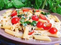 [素食] 10分鐘系列-清炒番茄義大利麵