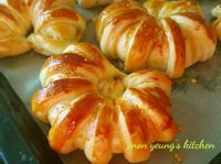 花生椰蓉麵包 簡易。家常烘焙。早餐