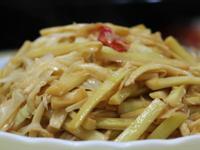 原味桂竹筍炒肉絲