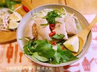 越南嫩雞肉河粉【雞肉軟嫩小秘訣】