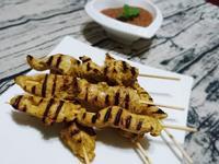 印尼街頭美食!★沙嗲雞肉串★