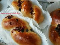 香橙蜂蜜麵包 簡易。家常烘焙。早餐