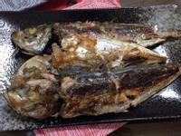 香煎竹筴魚
