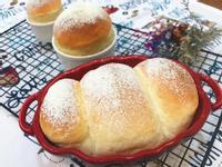超鬆軟好吃的牛奶麵包