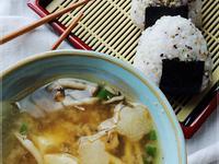 三文魚味噌湯