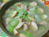 ㄚ曼達的廚房~絲瓜杏鮑菇