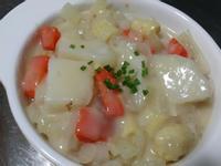 奶油白醬蔬菜♡