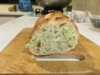大蒜醬-法國麵包