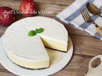 百香果優格生乳酪蛋糕(免烤箱)