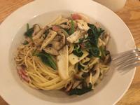 10分鐘上菜,和風培根野菇義大利麵