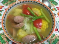 夏天的蔬菜湯
