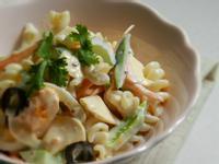 芝司樂活力食譜 - 濃醬輕蔬通心粉沙拉