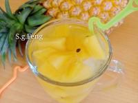 百香鳳梨冰茶