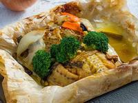 紙包烤鯰魚(4人份)