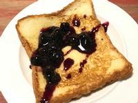 藍莓醬法式吐司