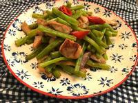 四季豆炒雞丁