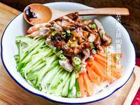 海陸BBQ醬燒乾拌麵-五木麵大師
