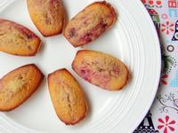 馬德蓮貝殼蛋糕 Madeleines Raspberry