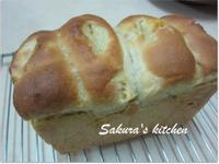 ♥我的手作料理♥ 湯種黃金薯吐司