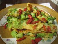 康寶鮮味炒手-枸杞花椰烘蛋