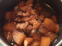 紅燒肉燉蘿蔔