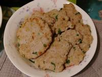 香煎蔥肉餅