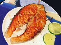 香煎奶油檸檬鮭魚