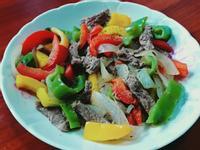 甜椒炒牛肉