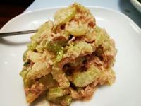 芹菜鮪魚扮伴奶油起司