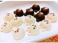 熊大兔兔夾心巧克力(焦糖餅乾夾心)