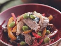 牛肉白胡椒燴香菇