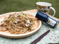 露營料理-好好食炒麵(小磨坊鮮磨白胡椒