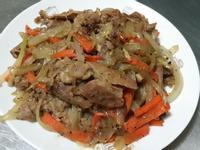 黑胡椒洋蔥肉片♡