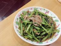 超新手 • 沙茶空心菜炒牛肉