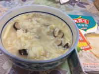 香菇竹筍粥[史雲生清雞湯]