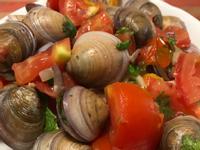 義式蛤蠣蕃茄麵