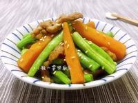 芝麻地瓜炒豬肉  【10分鐘快速料理】