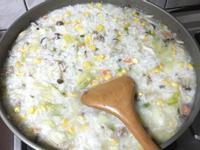 高麗菜玉米瘦肉綜合粥