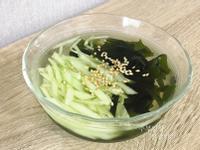 韓式小黃瓜海帶芽冷湯 오이미역냉국