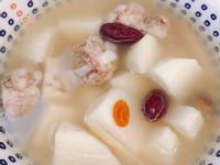 養生料理三步驟♥️山藥紅棗排骨湯