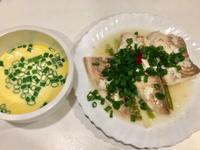高蛋白「清蒸檸檬鯛魚愛蔥花蛋」370卡
