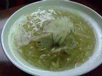 冬瓜蓉香菇丸湯
