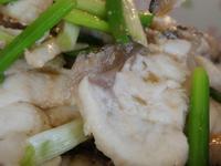 清蒸石斑魚片