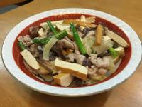酸菜肉片炒豆乾