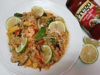 海鮮燉飯*輕鬆上桌[prego義大利醬]
