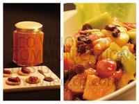 手工果醬+酸桔鮮果雞腿丁-酸酸甜甜好開胃