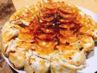 白韭菜蝦仁煎餃