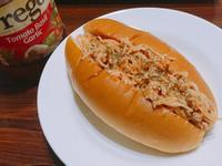 番茄羅勒大蒜義大利麵包